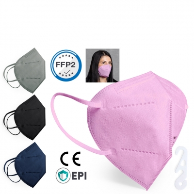 FFP2 Maske farbig 5-lagig geruchsneutral (20 Stk.)